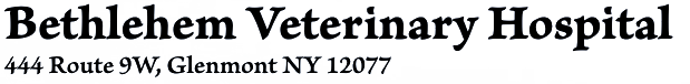 Bethlehem Veterinary Hospital Logo